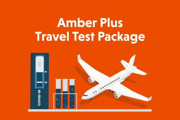 Amber Plus Travel Test Package