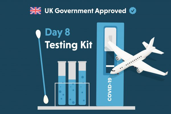 Postal Kit – UK Government Approved <br /> Day 8 Testing